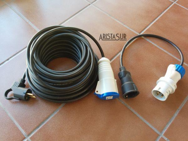 Alargadera de corriente para autocaravanas y campers for Alargador de corriente