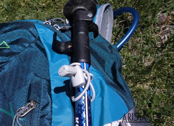 Cómo transportar los bastones de trekking cuando no se utilizan